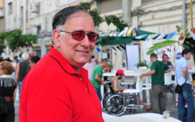 Le maire de Haïfa, Yona Yahav, en 2009. (Crédit : Shay Levy/Flash90)