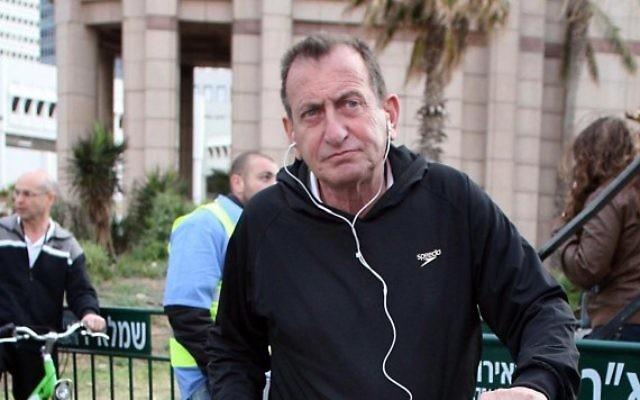 Le maire de Tel Aviv, Ron Huldai (Crédit : Gideon Markowicz/Flash90)