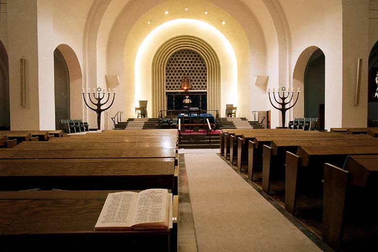 The Roonstrasse synagogue in Cologne (photo credit: courtesy sgk.de)