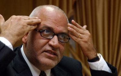 Saeb Erekat (Crédit : Flash90)