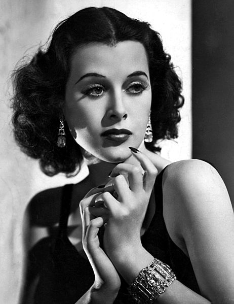 """Hedy Lamarr in the film """"Algiers"""" (photo credit: Wikimedia Commons)"""