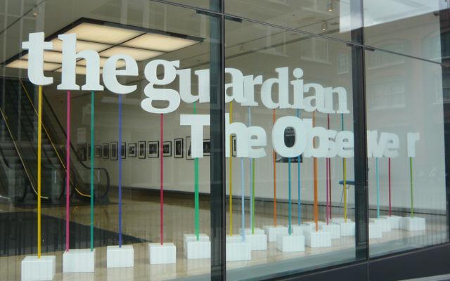 Les bureaux du Guardian à Londres (Crédit :  CC-BY WordRidden, Flickr)