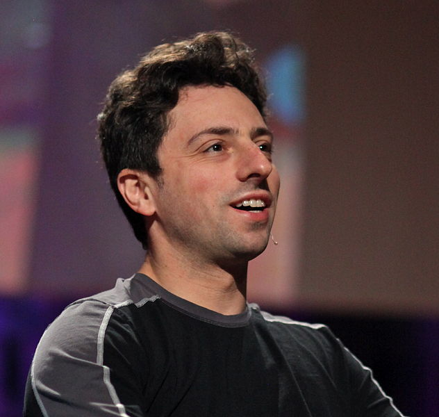 Sergey Brin (photo credit: CC-BY-Steve Jurvetson, Wikimedia Commons)