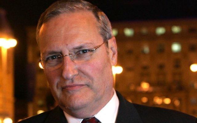 Efraim Zuroff. (Crédit : JTA via Creative Commons)
