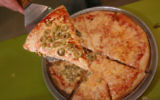 Photo illustrative d'une pizza (Yossi Zamir/Flash90)