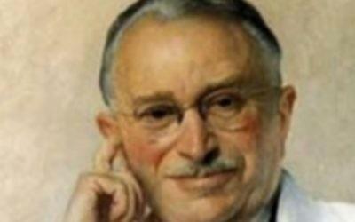 Ludwig Guttmann (photo credit: JTA via Stoke Mandeville)