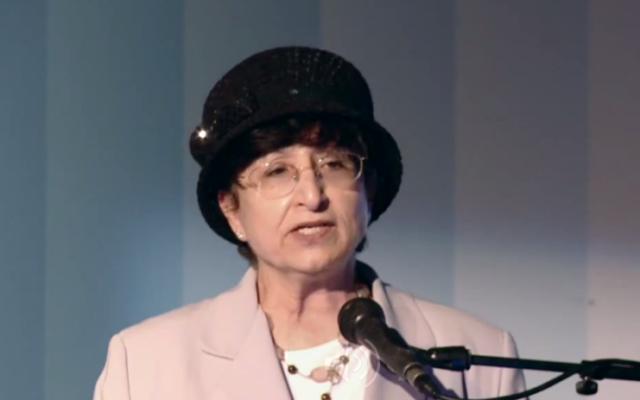 Adina Bar-Shalom (photo credit: YouTube screenshot)