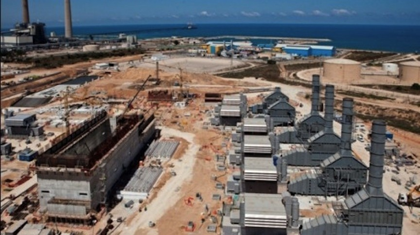 The Dorad power plant in the Negev, part of a network that, together with Zorlu's plants in Ashdod and Ramat Hanegev, will produce nearly 1,000 mw of electricity in Israel by 2014 (Photo credit: Courtesy GE)