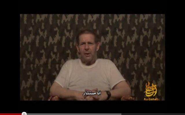 Warren Weinstein  dans une vidéo diffusée par al-Qaïda le 12 septembre 2012 (Capture d'écran: YouTube)