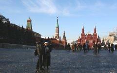 La place Rouge à Moscou (Crédit :  Anna Kaplan/Flash90/File)
