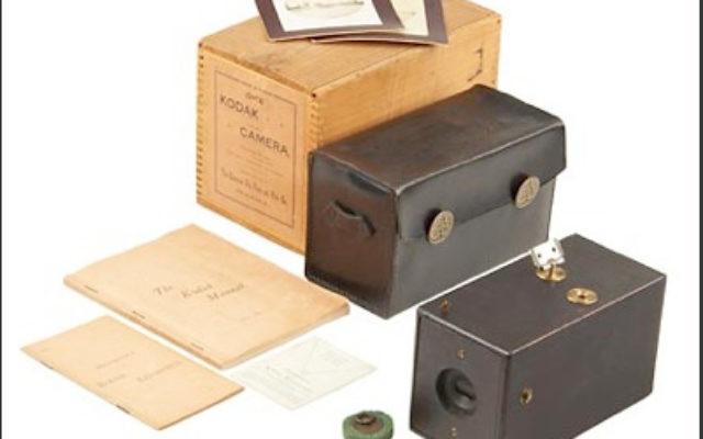 Kodak camera (photo credit: CC-BY-SA Kodakcollector, Wikimedia Commons)