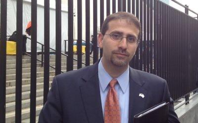 Dan Shapiro (Crédit : Raphael Ahren/Times of Israel)