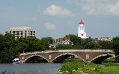 (Harvard University image via Shutterstock)