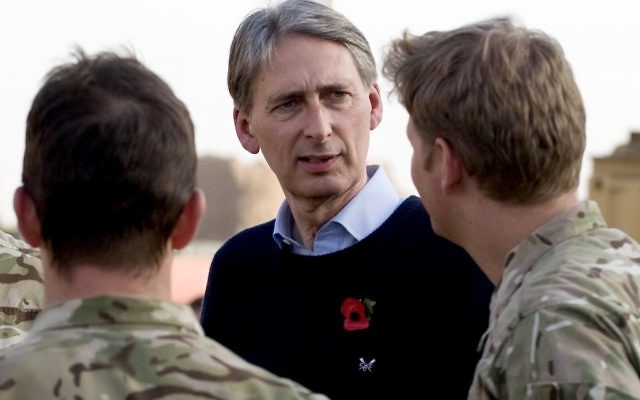 Phillip Hammond (Crédit : Ministry of Defense)