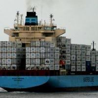 Un des navires de l'armateur danois Maersk Tankers. (Crédit : CC BY L2F1, Flickr)