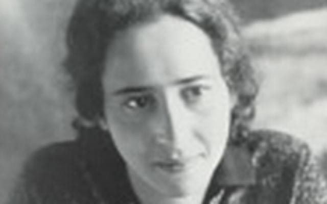 Hannah Arendt (Crédit : Portable Hannah Arendt, Penguin Classics/capture d'écran Amazon)