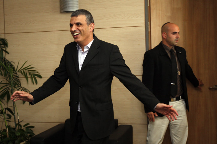 Communications Minister Moshe Kahlon said he was spreading his wings and leaving politics (photo credit: Miriam Alster/Flash90)