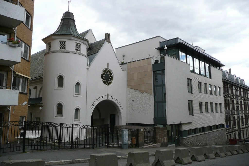 A synagogue in Oslo. (photo credit: CC BY Metro Centric, Flickr)