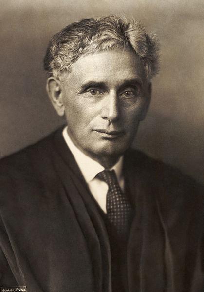Louis Brandeis (photo credit: Wikimedia Commons)