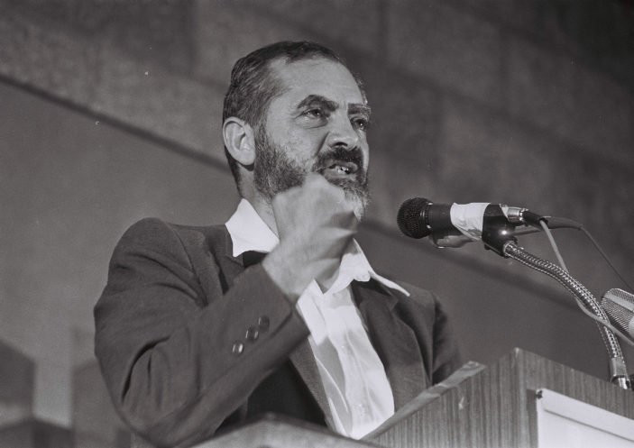 Rabbi Meir Kahane (photo credit: Yossi Zamir/Flash90)