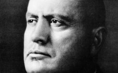 Mussolini (photo credit: Wikimedia Commons)