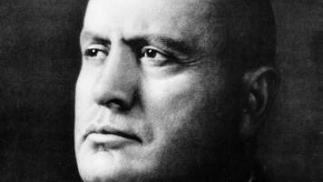 Mussolini (photo credit: Wikimedia Commons)