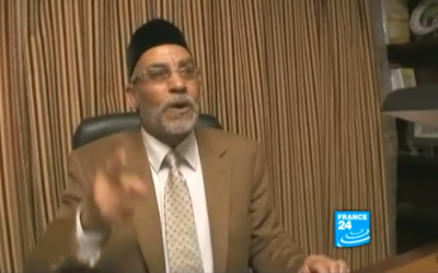 Mohammed Badei. (Crédit : capture d'écran France24/Youtube)
