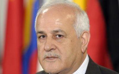 Riyad Mansour, ambassadeur palestinien aux Nations unies. (Crédit: United Nations Media Center)