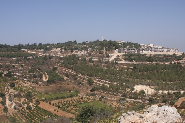 A view of Gush Etzion from Patriarch's Way (photo credit: Shmuel Bar-Am)