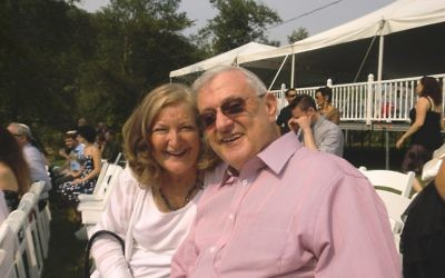 Erica Goldman-Brodie and Rabbi Joseph A. Brodie