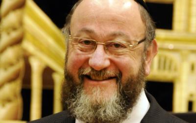 Ephraim Mirvis en 2012 (Crédit : John Rifkin)
