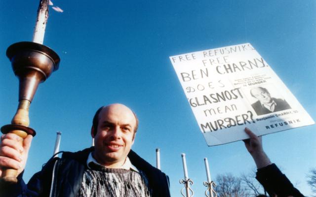 Natan Sharansky, directeur de l'Agence juive Crédit : (Autorisation de la Conférence nationale des juifs soviétiques)