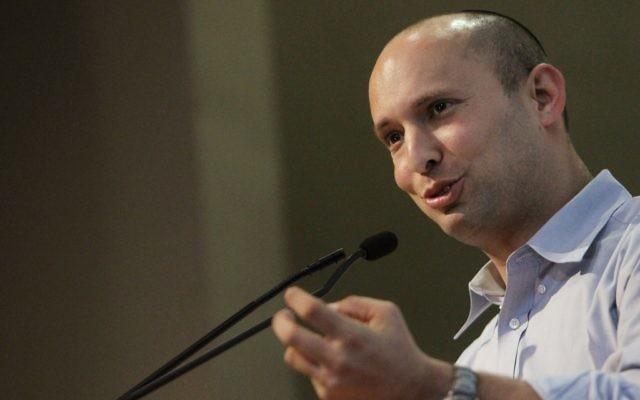 Naftali Bennett à Jerusalem le 23 décembre 2012 (Miriam Alster/Flash90)