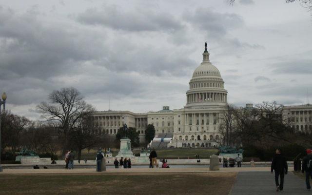 Le Congrès américain (Crédit : CC BY-SA Dougtone, Flickr)