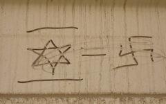 Anti-Semitic graffiti (illustrative photo: CC BY-zeeweez, Flickr)