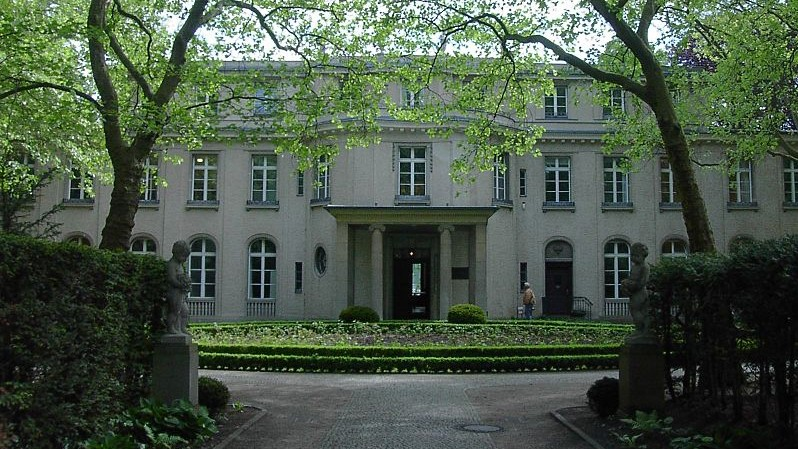 Wannsee Conference Villa (photo credit: Wikimedia Commons)
