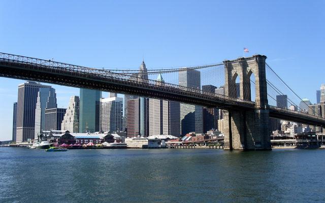 Le pont de Brooklyn, New York. (Crédit: CC BY/Buggolo via Flickr.com)