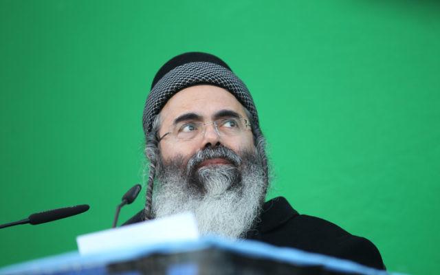 Rabbi Amnon Yitzhak (photo credit: Nati Shohat/Flash90)