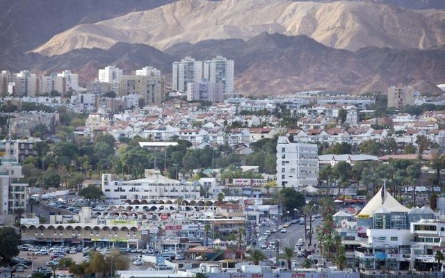 View of Eilat (photo credit: Moshe Shai/Flash90)