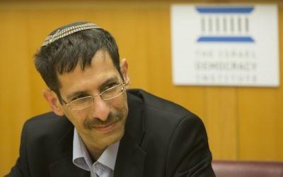 MK Uri Orbach of the Jewish Home party (photo credit: Yonatan Sindel/Flash90)