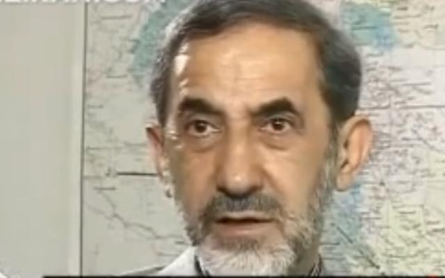 Ali Akbar Velayati (Crédit : capture d'écran/YouTube)
