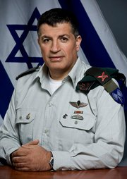 "IDF Spokesman Brig. Gen. Yoav ""Polly"" Mordechai (photo credit: IDF)"