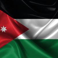 Le drapeau jordanien (Crédit : shutterstock)