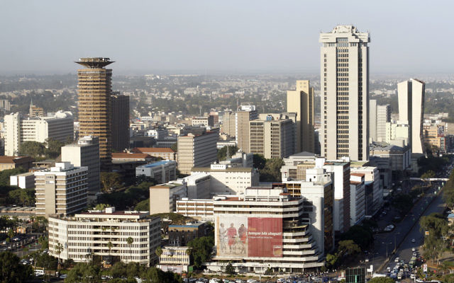 Nairobi, capitale du Kenya. (Crédit : Flickr/CC BY 2.0/DEMOSH)