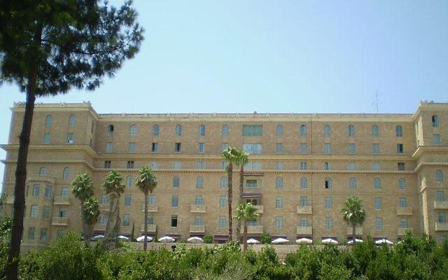 The King David Hotel, Jerusalem (photo credit: Wikimedia Commons)