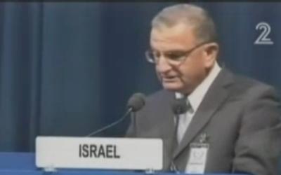 Shaul Chorev (Photo credit: Channel 2 Screen Shot)