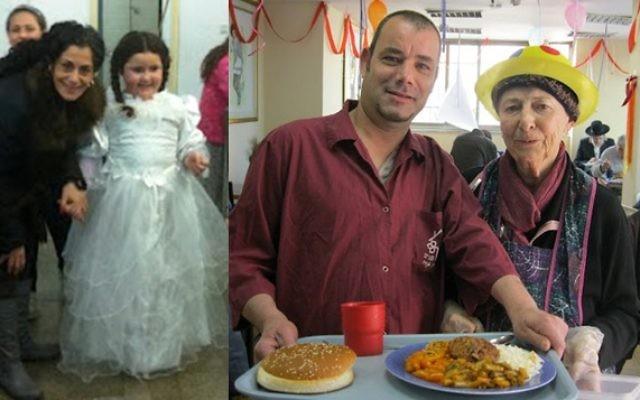 L'association Meir Panim aide les populations les plus démunies en Israël notamment en servant des repas (Crédit : autorisation)