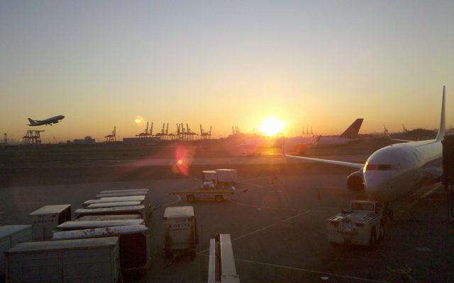 L'aéroport de Newark (Crédit : CC BY switchstyle,Flickr)