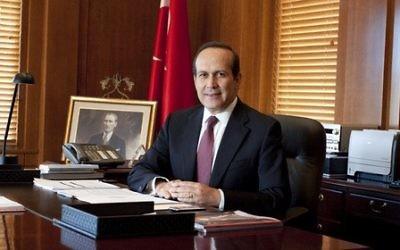 Turkish Ambassador to the US Namik Tan (photo credit: Twitter)