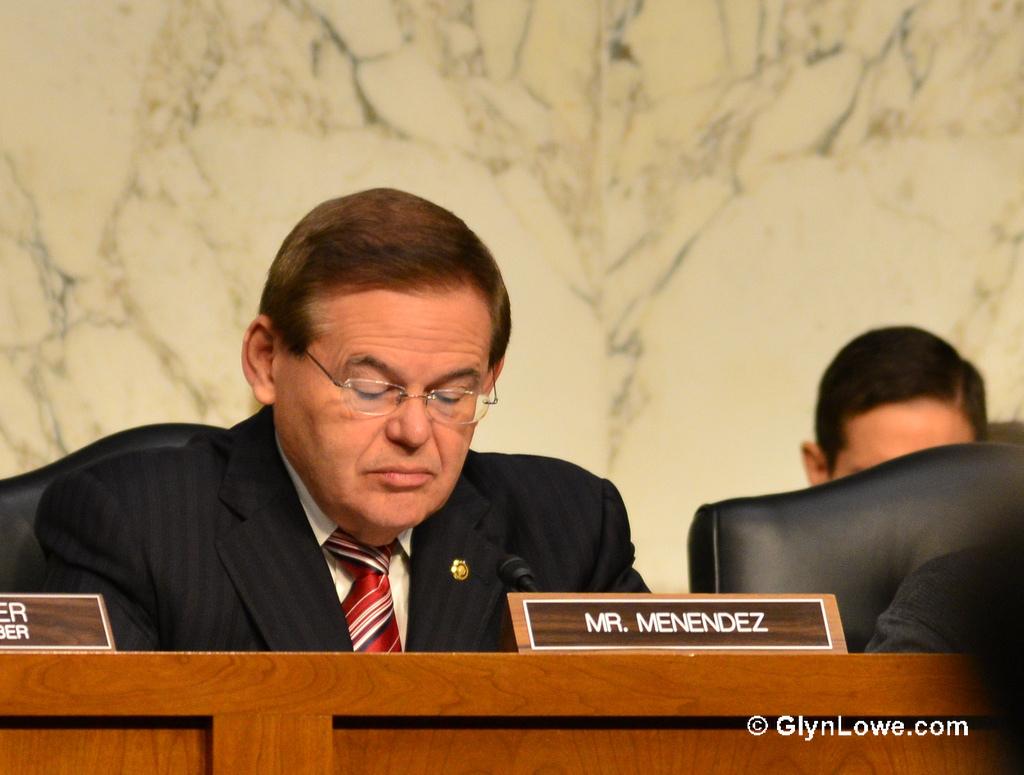 Senator Robert Menendez (D-NJ) (photo credit: CCBY Glyn Lowe Photoworks, flickr)